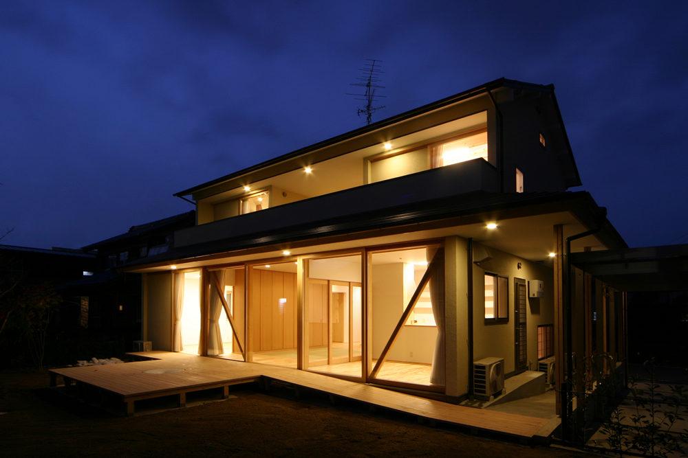 三橋鶴舞の家